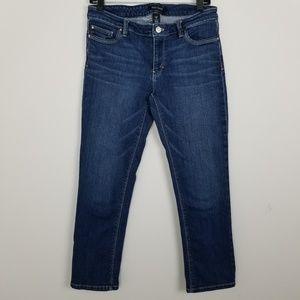 White House Black Market Crop Jeans | Sz 8